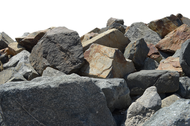 Rocks Stock Photo 0227 PNG Elements by annamae22