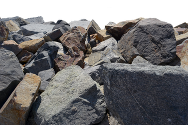 Rocks Stock Photo Back View 0226 PNG Elements by annamae22
