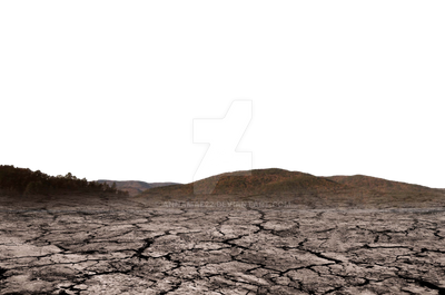Mountains and Cracked Earth PNG copy 2