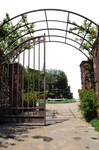 Iron Gate Premade Background Stock 0048 PNG