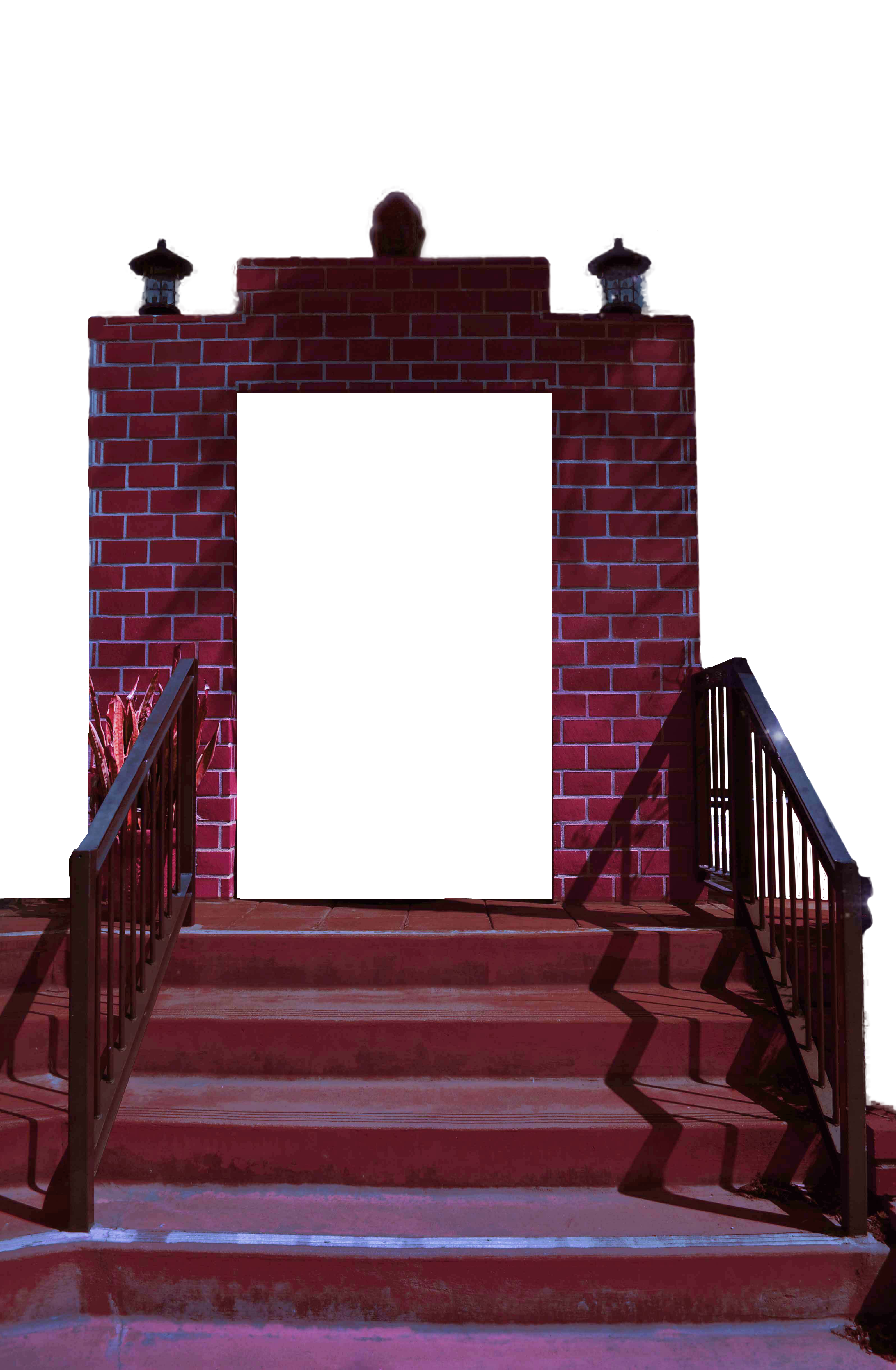 Brick Archway Clearcut Png Stairs Background Stock By