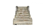 Old Concrete Stairs PNG Stone Steps Symmetrical 00