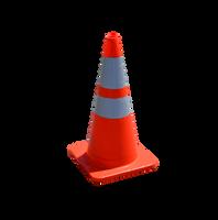 Orange Traffic Cone PNG Stock Photo 0022 copy by annamae22