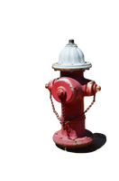 Fire Hydrant PNG Stock Photo 0150 SideView by annamae22
