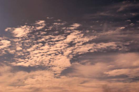 Cloud Sky Stock Photo 0231 Warm mix
