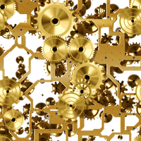 Mechanical Steampunk Stock 2 PNG by annamae22