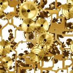 Mechanical Steampunk Stock 2 PNG
