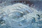 Heavy Paint Strokes Texture 0050