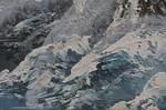 Paint Strokes Texture Stock  0065