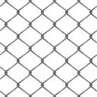 Metal Chain Fence PNG Stock cc1 LARGE by annamae22
