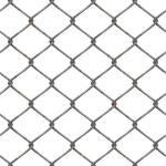 Metal Chain Fence PNG Stock cc1 LARGE
