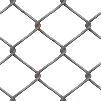 Metal Chain Fence PNG Stock cc1 by annamae22