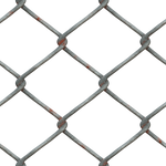 Metal Chain Fence PNG Stock cc1