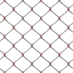 Metal Chain Fence PNG Stock cc2