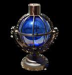 Glass Hurricane Lamp PNG Stock Photo 01602