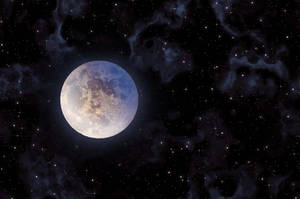 Ultimate Starfield background Stock Moon Stock by annamae22