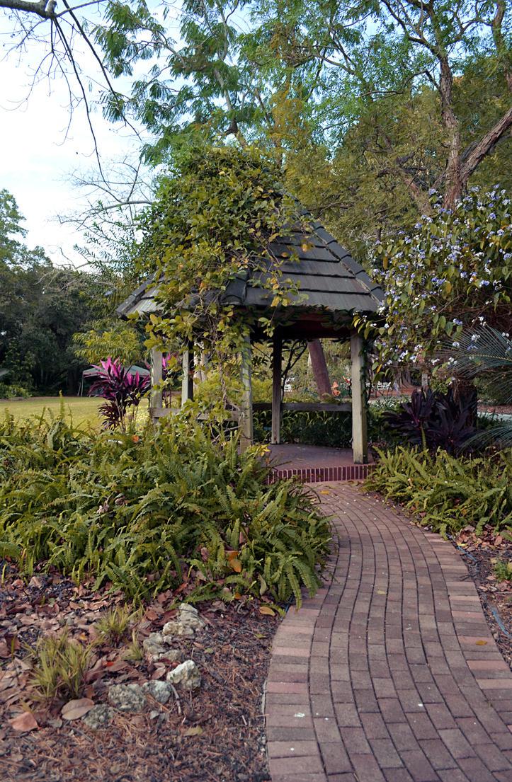 Gazebo Garden Path Background Stock 0111 WARM by annamae22 on DeviantArt