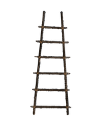 Old Wooden Ladder PNG Stock with ROPE LARGE by annamae22