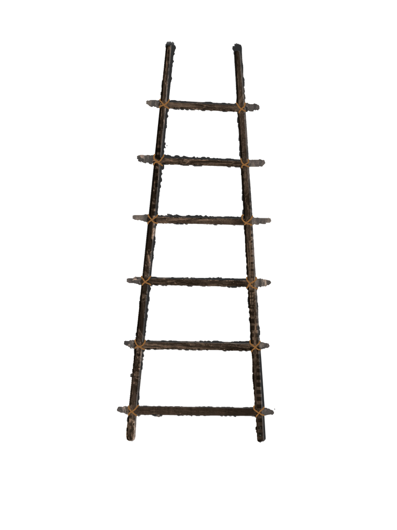 Old Wooden Ladder Png Stock With Rope Large By Annamae22 On Deviantart