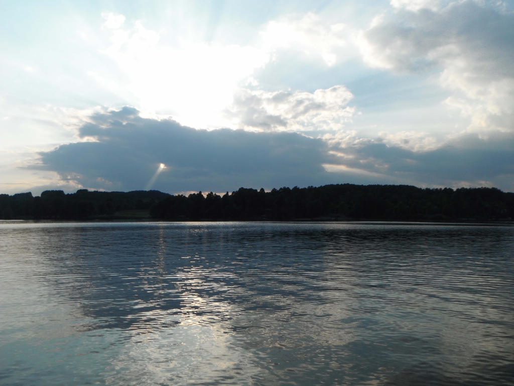 Lake Sunset Landscape Stock 0483 by annamae22