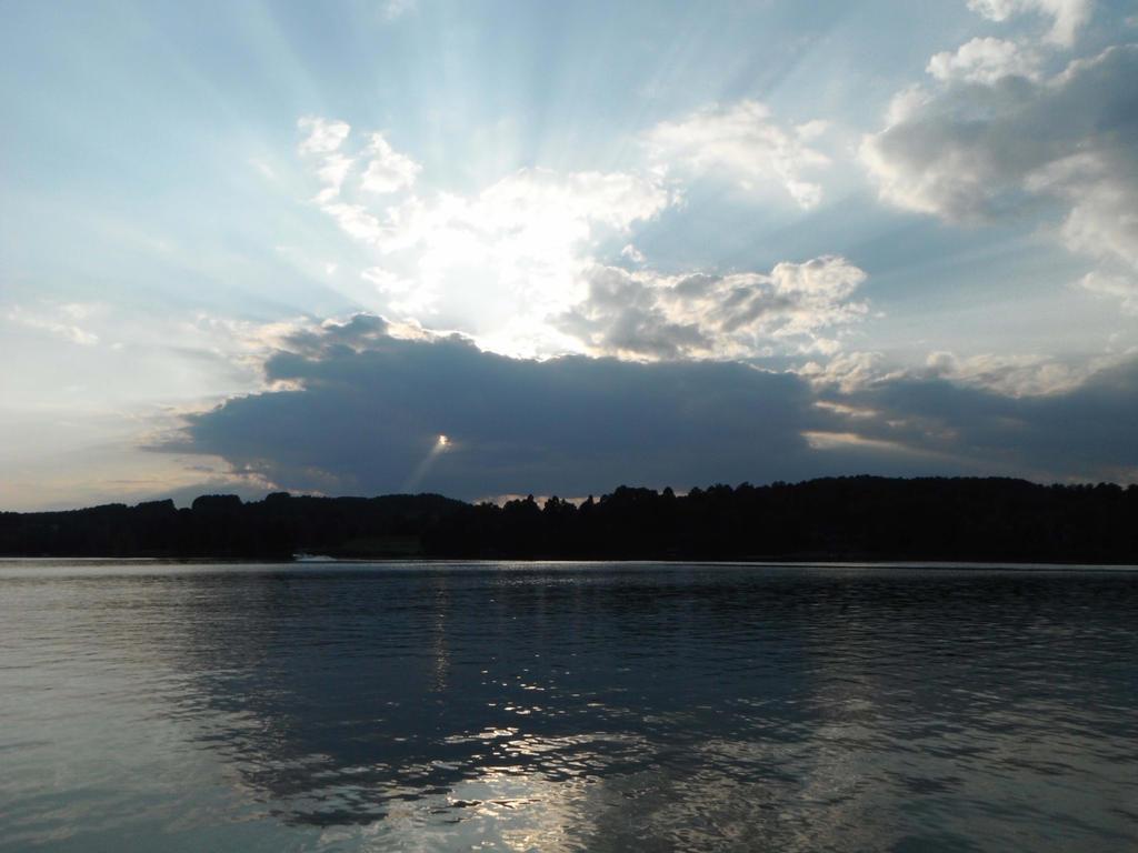 Lake Sunset Landscape Stock 0486 by annamae22