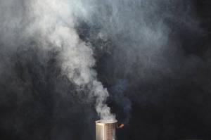 Smoke Bomb Smoke Stock 0114 Smoking Can on Fire 2 by annamae22