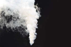 Smoke Bomb Smoke Stock 0011 White Plume