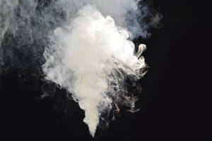 Smoke Bomb Stock White Plume 0012 Mushroom Cloud