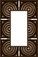 Frame PNG Stock-Ornate Rectangle  048 FF by annamae22