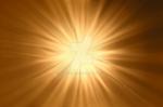 Golden Light Rays PNG Stock 0322