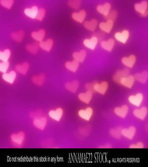 Pink Heart Bokehs Texture Stock Photo 4107