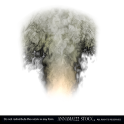 Smoke Plume- PNG Stock Image 0160-Credit to Orteil