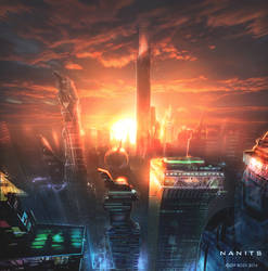 Cyberpunk NEW YORK by RoeeateR