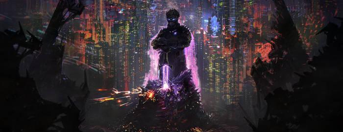 70ss Purple Knight