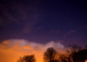 night sky by Leyto