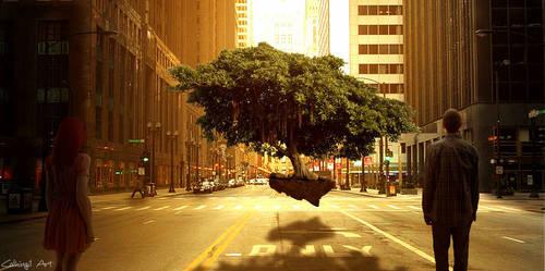 The last tree (hanging tree contest)