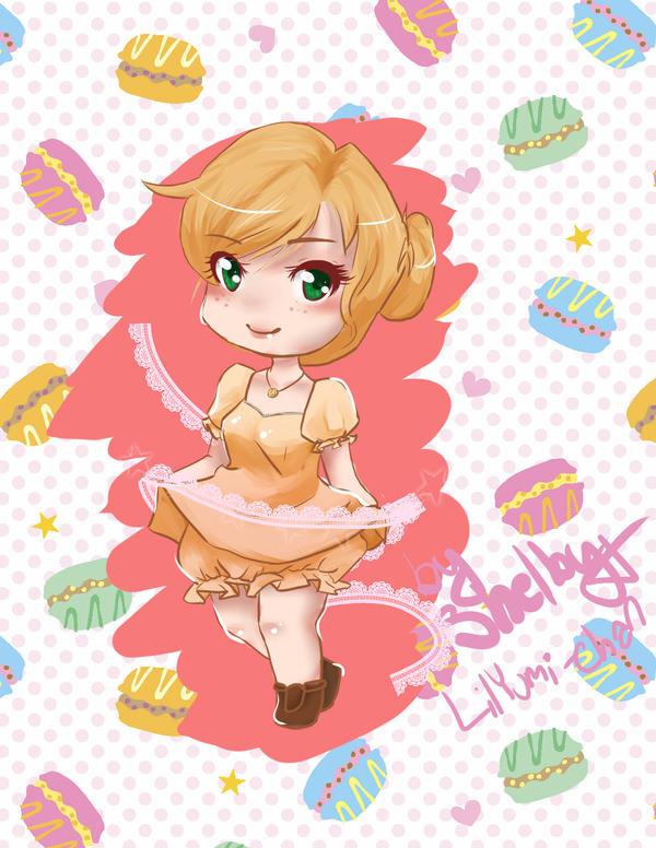 Chibi Me by lilYumi-chan