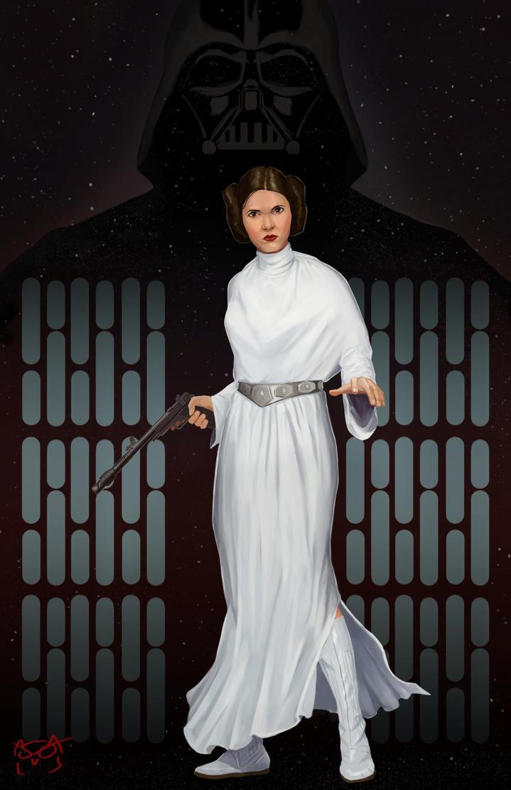 Princess Leia Organa by TheGreaterDesign