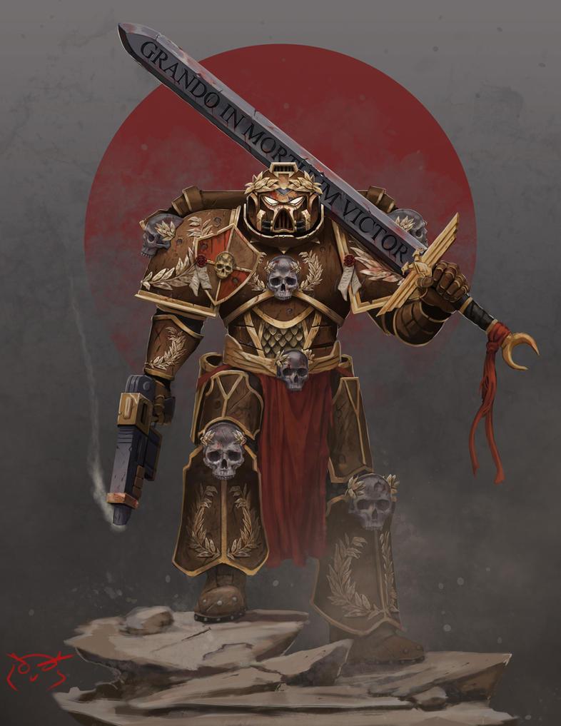 Grando In Mortuum Victor! by TheGreaterDesign