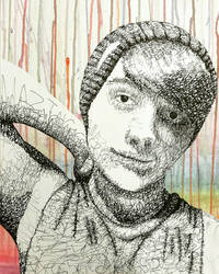 Word Art Portrait of Jean