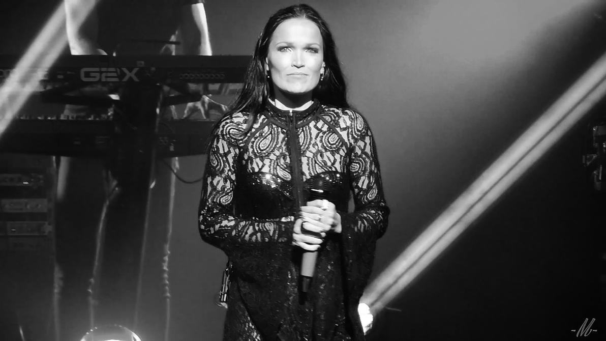 Tarja's staring at us bw3 by TheHumanoidTyphoon86