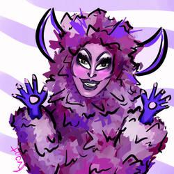 Crystal 'Purple Cow' Methyd