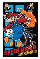 SUPER MARIO (JORDAN 11) by createink