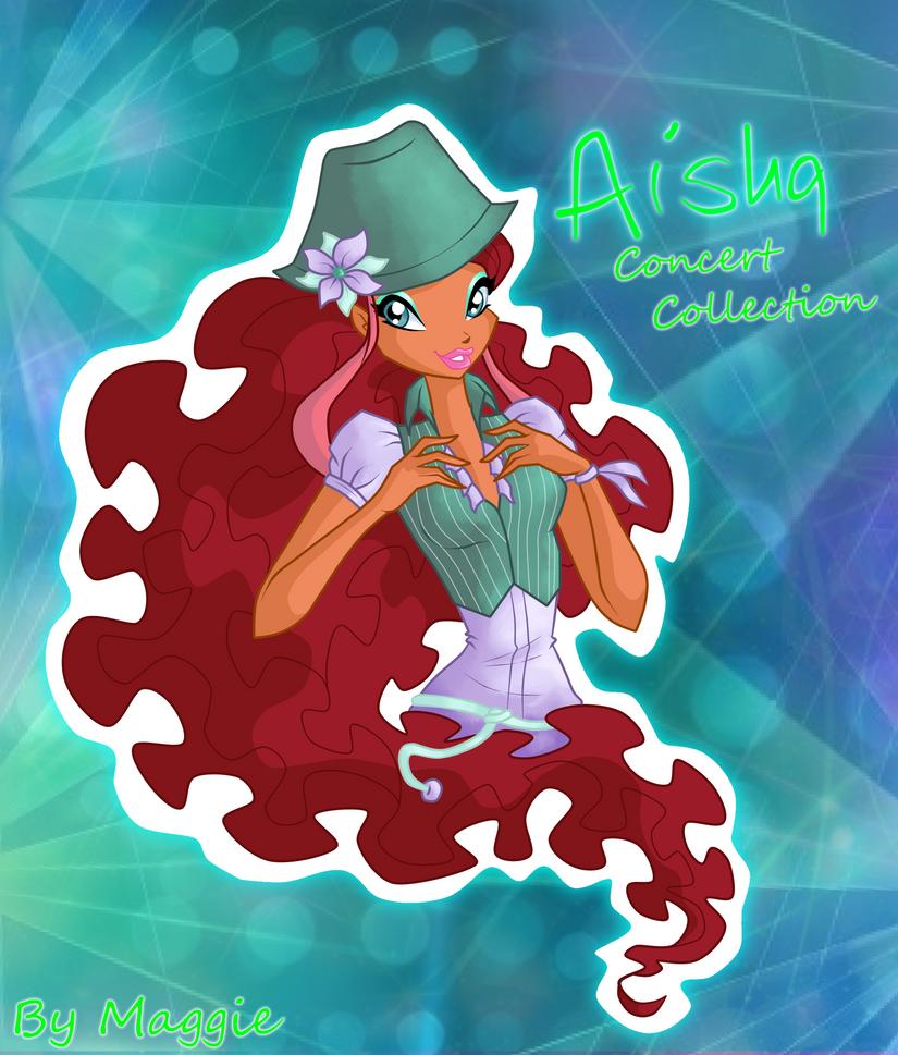 Aisha Concert Collection by magicalcolourofwinx