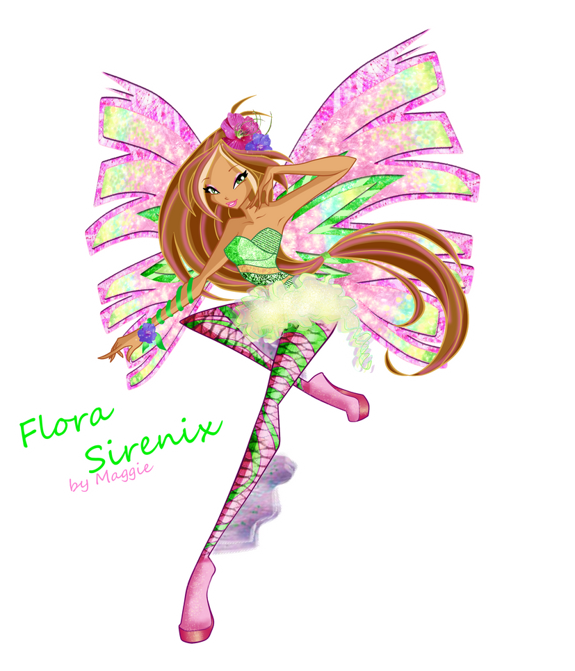 Flora Season 5 Sirenix by magicalcolourofwinx