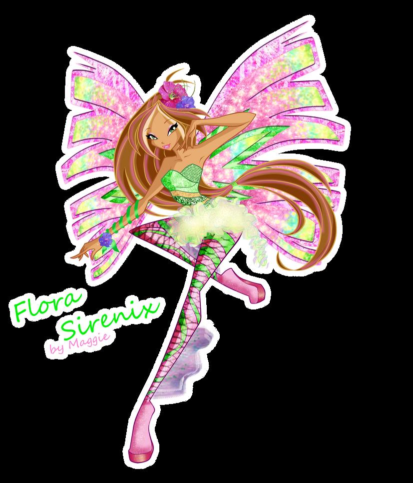 Flora Season 5 Sirenix by magicalcolourofwinx