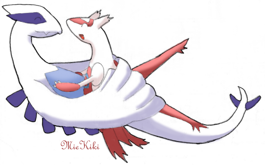 Request: Lugia+Latias by MieKiki on DeviantArt