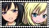 Stamp - Yozora and Sena by Taorero