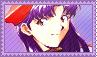 Stamp - Misato Katsuragi by Taorero