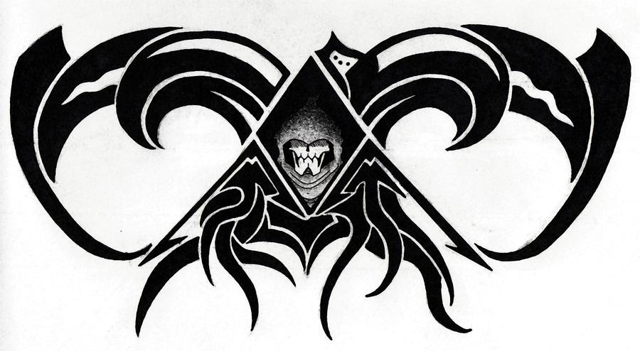 Tribal Death Tattoo: Death Tribal Tattoo By YamiBroly777 On DeviantArt